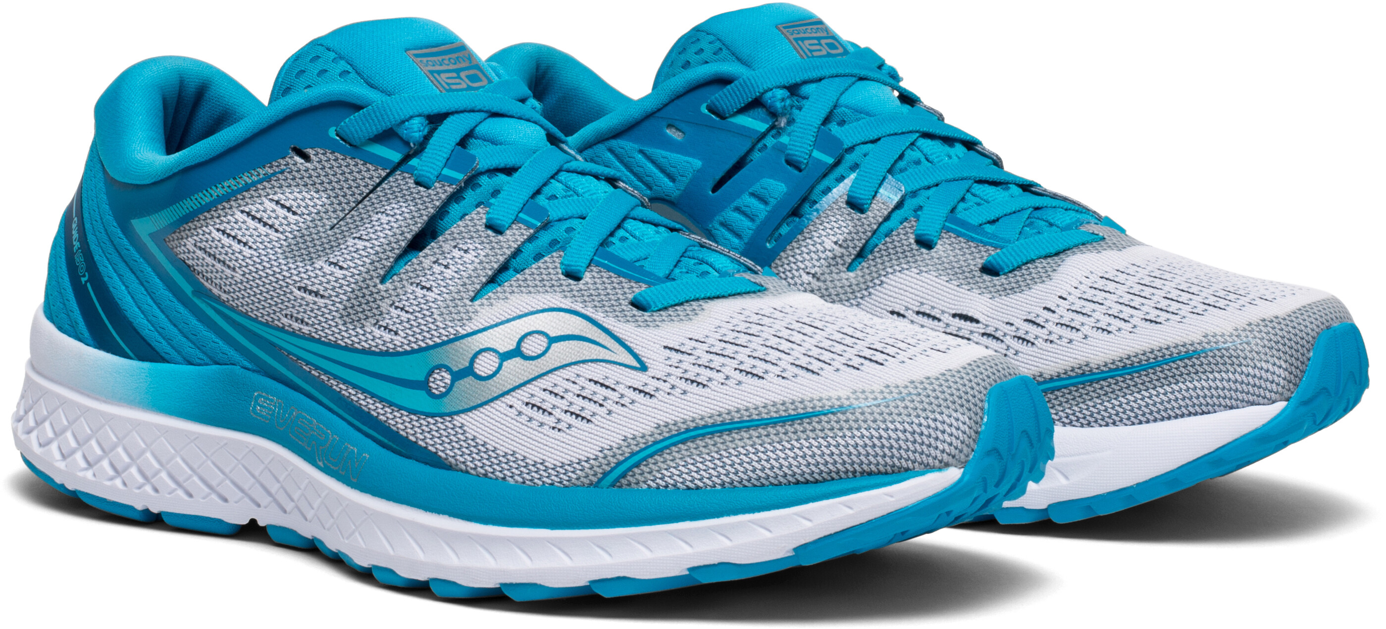 f246c859d96 Saucony Guide Iso 2 Running Shoes Women Blue White At Bikester Co Uk
